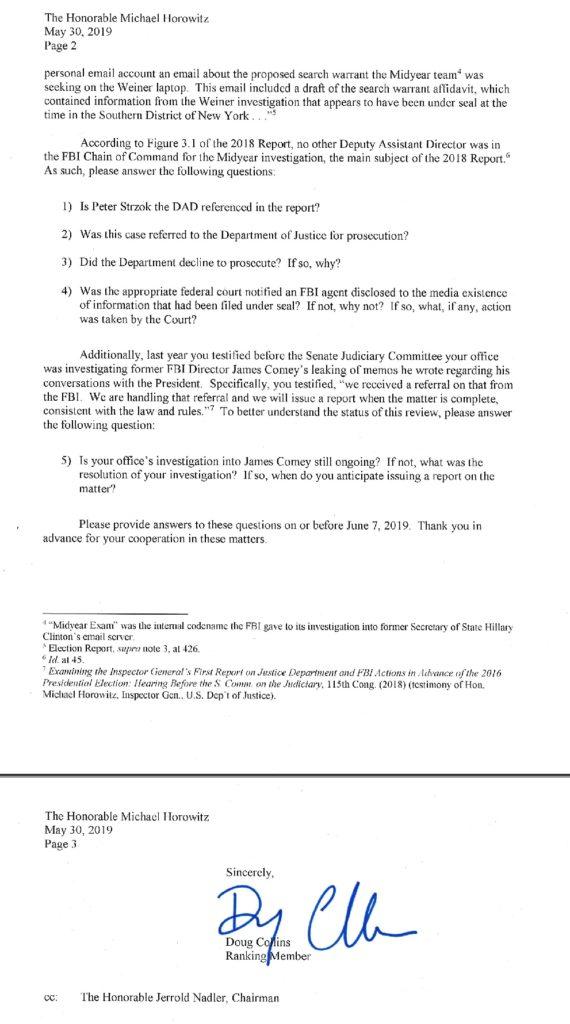 Michael Horowitz Report