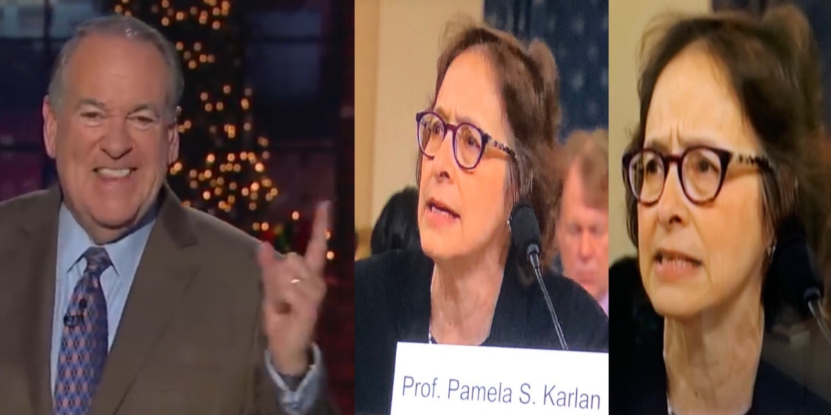 """Mike Huckabee Responds To Prof. Karlan's 'Outraged' Testimony Against Trump: """"Thank You Dems For Being DIM... And DULL"""""""