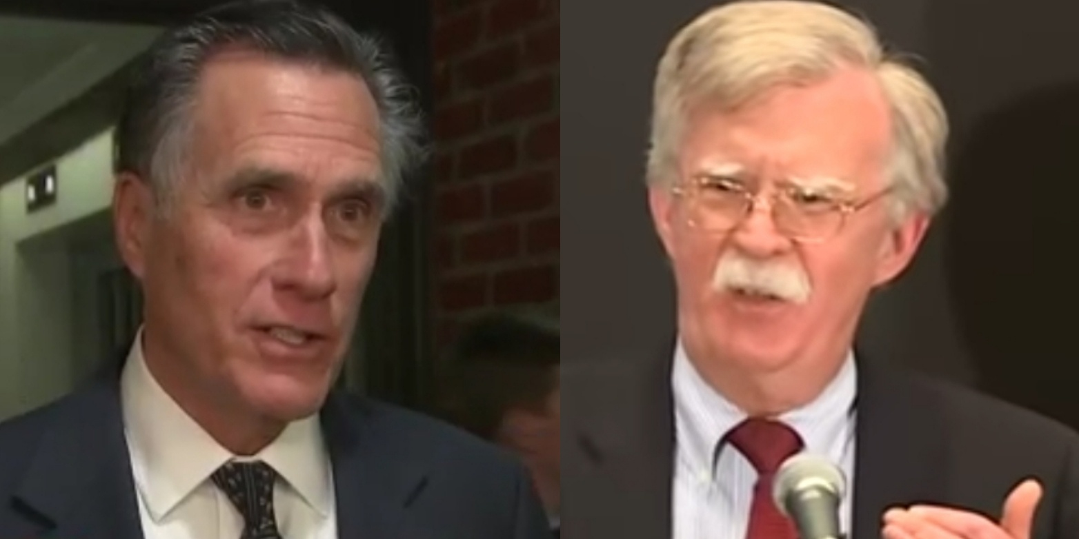 "Mitt Romney Signals That He'll ""Presumably"" Vote To Hear From John Bolton In Impeachment Trial"